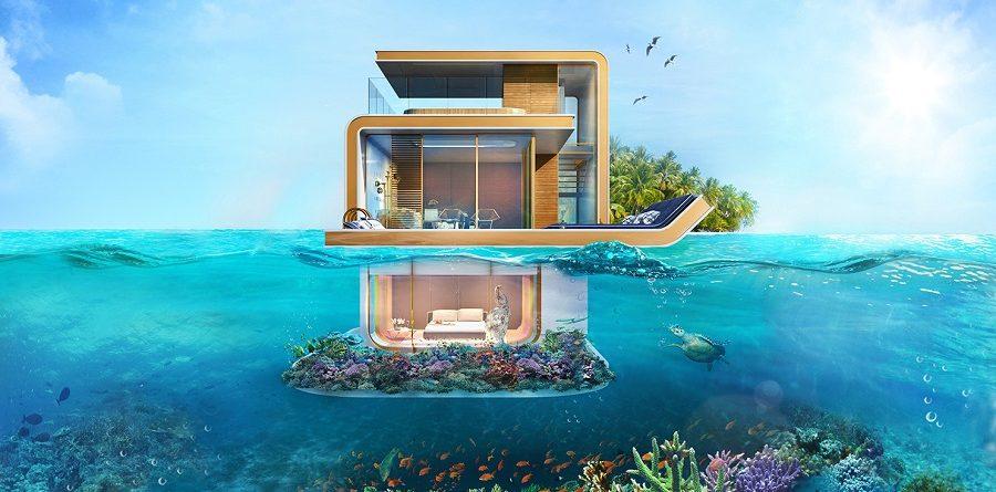¿Te quedarías en estas villas subacuáticas enDubai?