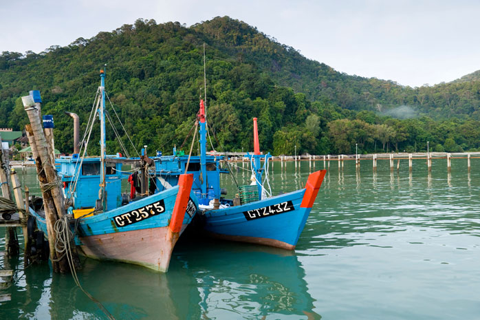 penang-boats