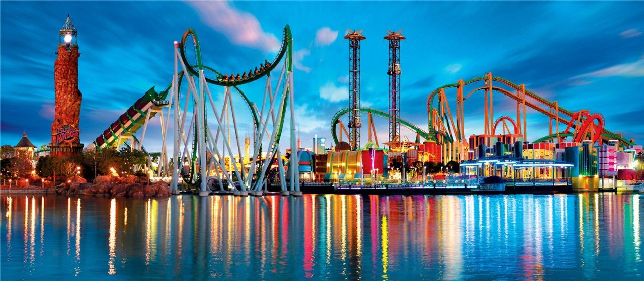 Los 8 parques de diversiones más populares delmundo