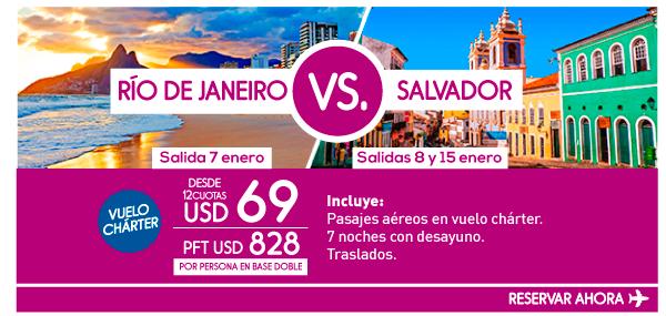 ¿Río o Salvador?
