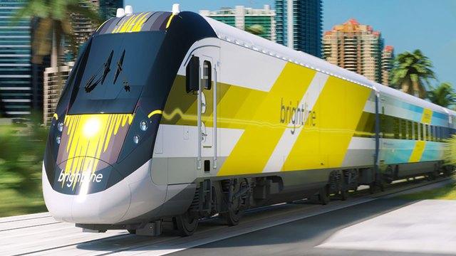 El Tren de Alta Velocidad que eventualmente unirá Miami y Orlando comienza a operar entre Fort Lauderdale y PalmBeach